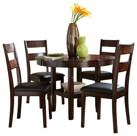 standard furniture pendleton 5 dining room set in