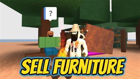 roblox   sell  unwanted furniture  work   pizza place youtube