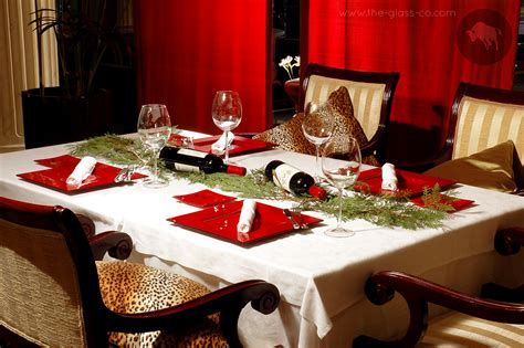 how to set a christmas table christmas table settings