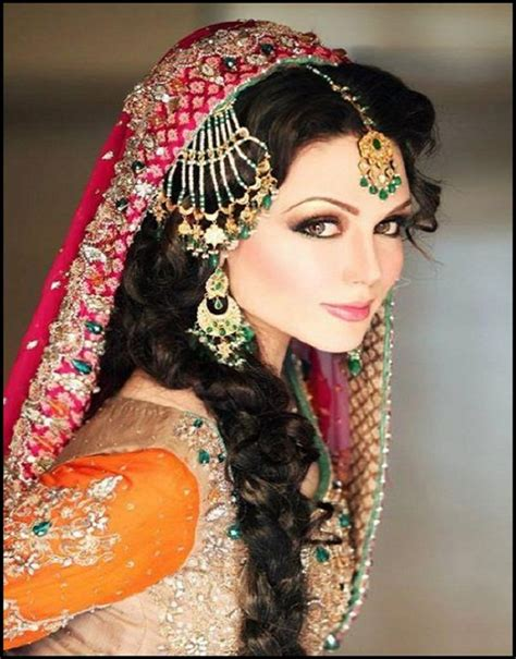 indian bridal hairstyles and makeup indian style makeup and hairstyle looks for brides