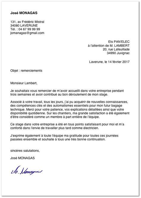 Lettre De Remerciement Hospitalisation lettre de remerciement lettre de motivation 2018