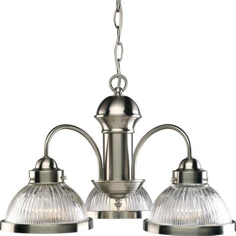 progress lighting brushed nickel chandelier progress lighting brushed nickel 3 light chandelier the