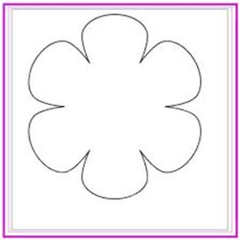 flores de 5 petalos para imprimir resultado de imagen para molde de flor de 6 petalos
