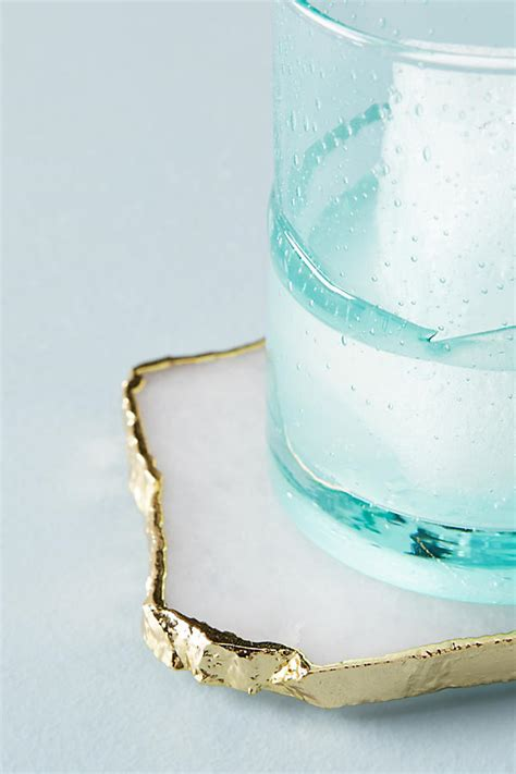 Anthropologie E Gift Card - slivered geode coaster anthropologie