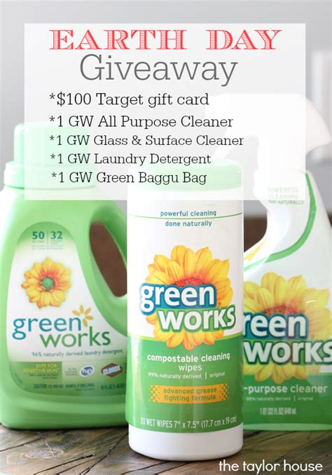 Earth Day Giveaway Ideas - earth day giveaway the taylor house