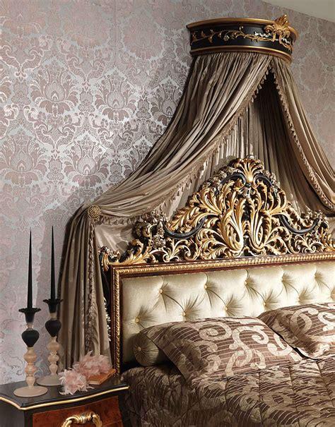 da letto con baldacchino da letto classica emperador black letto con