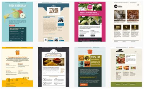 templates for email marketing 25 restaurant marketing ideas how to market a restaurant