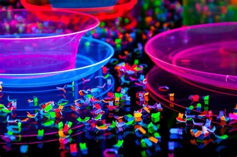 Blacklight Decorations blacklight neon confetti neon glow in the