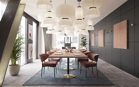 Dining Room And Studio Stunning Chic Dining Room Designs Combined With Modern