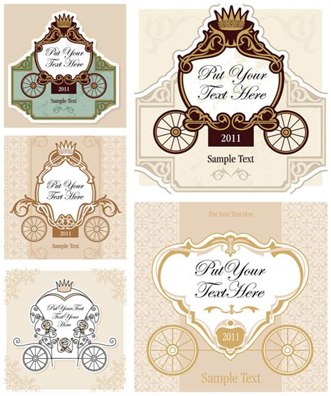 classic wedding card template classic wedding invitation card templates vector free