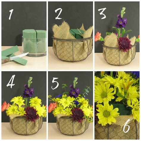 how to floral arrangements how to make a thanksgiving centerpiece from a walmart