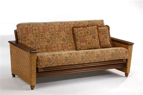 wicker futon chair magnolia rattan futon frame by day furniture