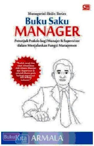 bukukita managerial skills series buku saku manager