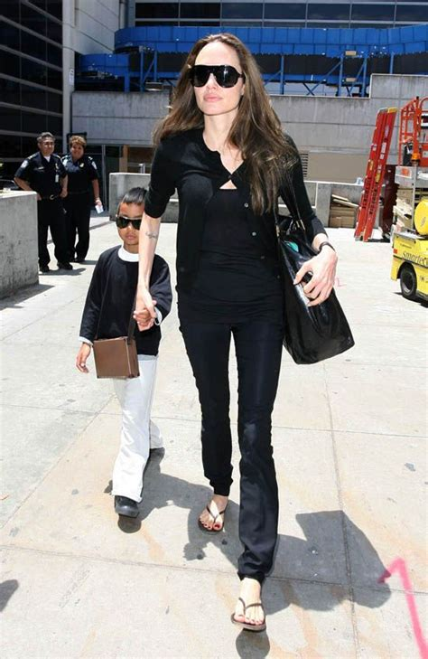 angelina jolie brings son knox to military supply store 305 best angelina jolie style images on pinterest