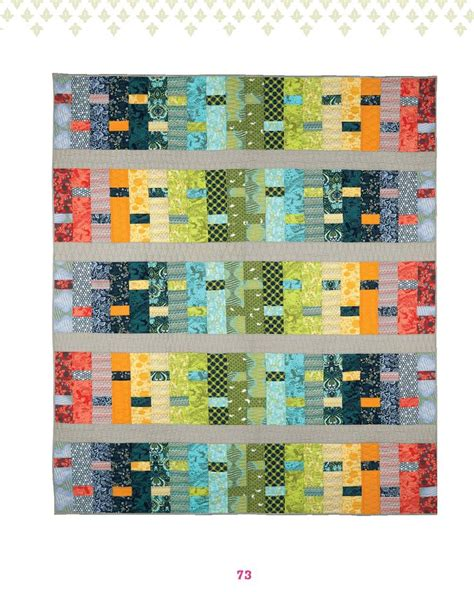 Modern Patchwork Quilt Patterns - weaver pattern by tula pink quilt it