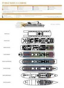 piano nave e cabine msc