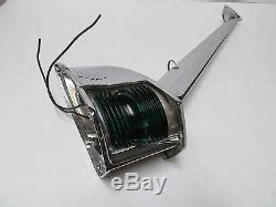 runabout boat lights vintage red and green boat yacht runabout chris craft bow