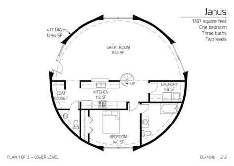 Home Design 3d Levels floor plans multi level dome home designs monolithic
