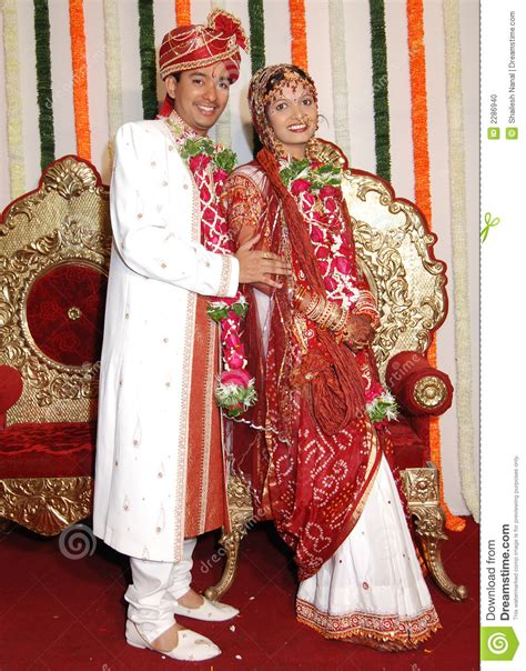 indian wedding dresses for couples happy indian marriage stock photo image of smart
