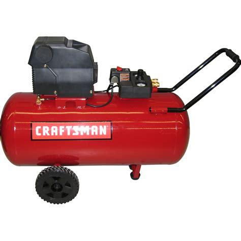 craftsman 33 gallon horizontal portable air compressor shop your way shopping earn