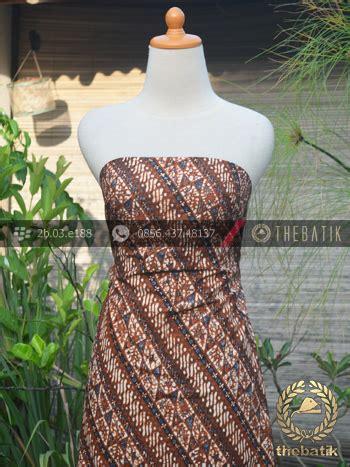 Parang Seling jual kain batik motif klasik parang klithik seling