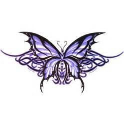 purple butterfly tattoos on pinterest purple butterfly