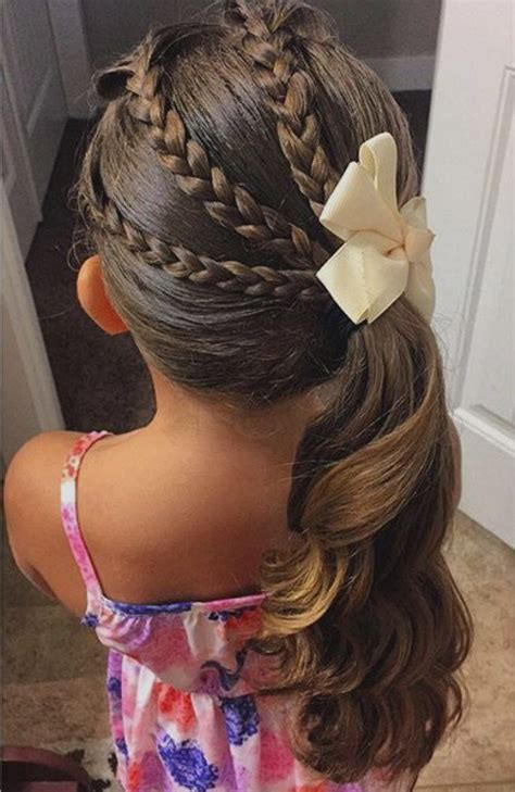 cool hairstyles girl easy cool braid for special occasion for a little girl