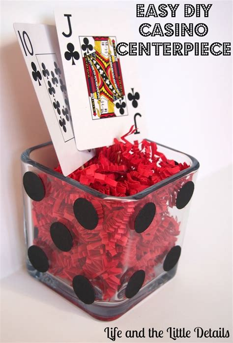 themed centerpieces best 25 casino themed centerpieces ideas on