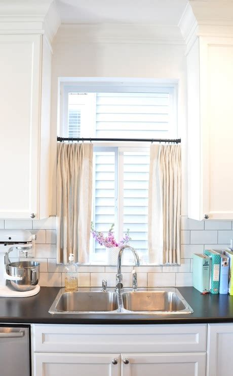 kitchen window curtain kitchen cafe curtains transitional kitchen kerrisdale design