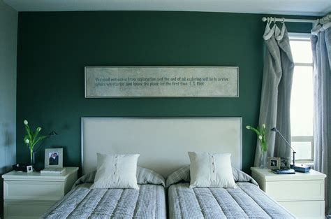 accent wallpaper schlafzimmer green bedroom photos and decorating tips