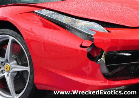maserati gets smashed two more 458 italia supercars smashed up