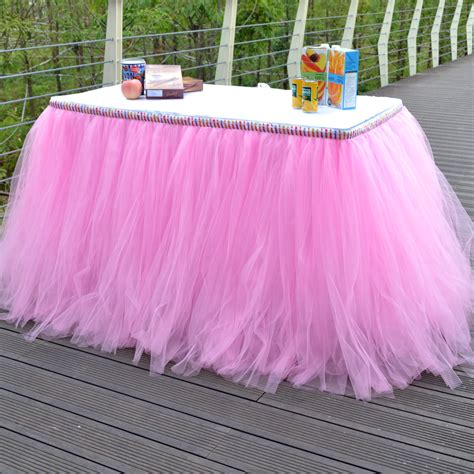 tulle tutu table skirt get cheap tulle tutu table skirt aliexpress com