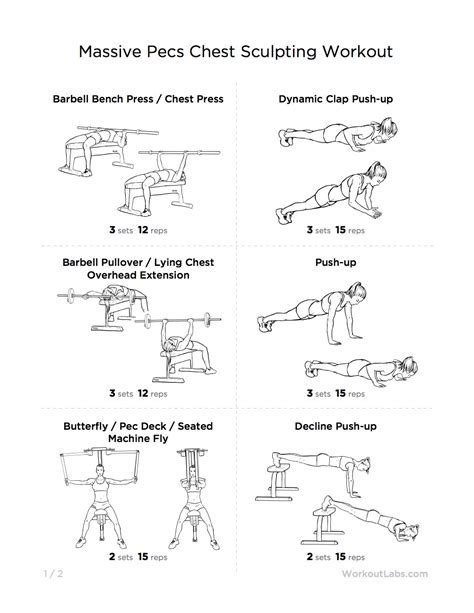 chest workouts 187 health and fitness