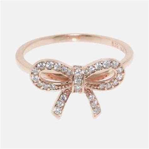 bow rings s day gift of