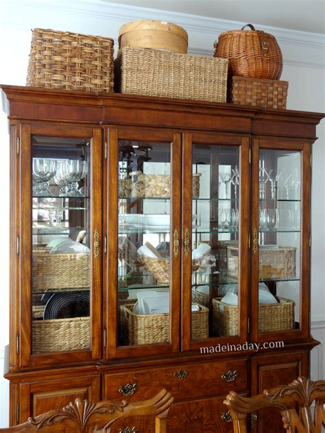 Decorating China Cabinet by How To Decorate China Cabinet