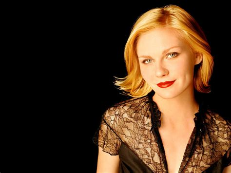 Kirsten Dunst Is A Lovely Creature by Lovely Kirsten Dunst Wallpaper Hd Pictures