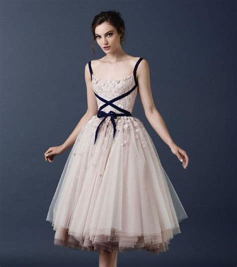 Informal Bridal Gowns by Chagne Vintage Tea Length Wedding Dresses 2016