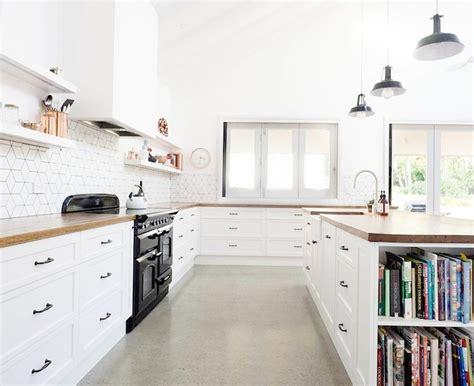 concrete kitchen floor 10 amazing inspirations for concrete flooring