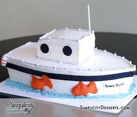 fishing boat birthday cake fishing boat birthday cake ideas and designs
