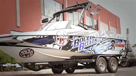 warrior boats out of business warrior wraps custom vehicle boat business graphic