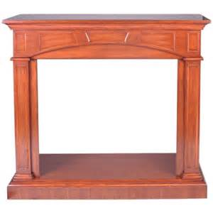 procom traditional cherry fireplace mantel at lowes
