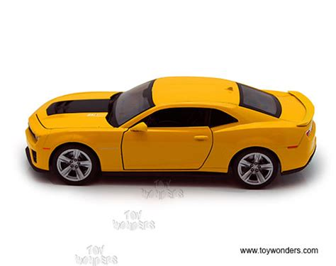 Die Cast City Vehicle 6 Pcs chevy camaro zli by welly 1 24 scale diecast model car
