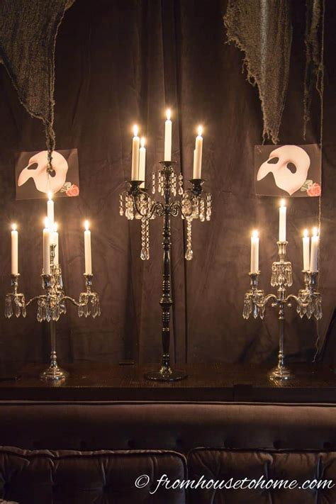 phantom   opera party ideas   wow  guests