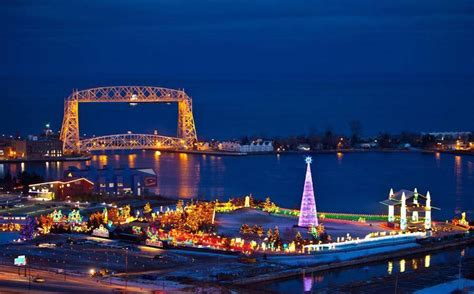 bentleyville tour of lights bentleyville usa bayfront festival park duluth mn