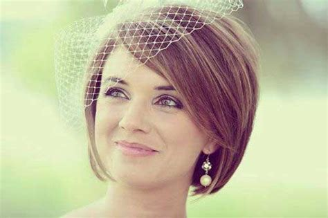 Bridal Hairstyles For Bobbed Hair by 15 Best Wedding Bob Hairstyles Bob Hairstyles 2017