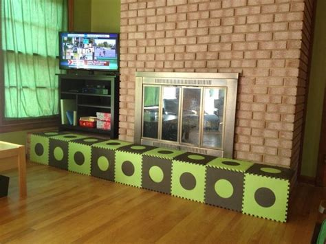 baby proofing the fireplace with foam mats hearth baby