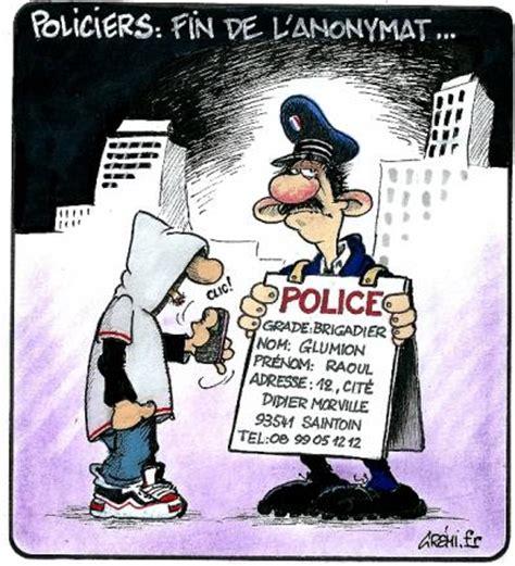 Policiers et anonymat. · è molto goloso