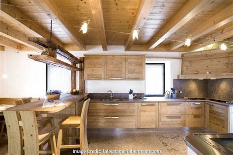 elegante cucine in legno fatte a mano cucina design idee