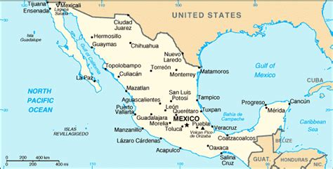 big map of mexico travels with the burnhams