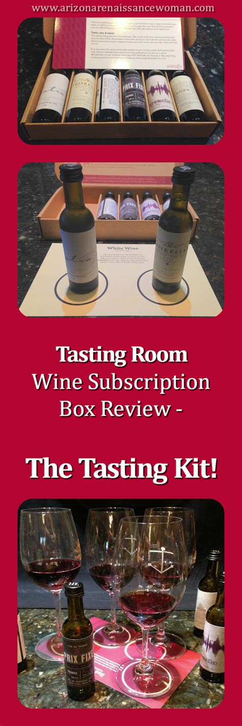 tasting room review arizona renaissance tasting room wine subscription review the tasting kit